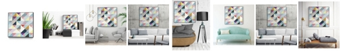 """Giant Art 20"""" x 20"""" Modern I Art Block Framed Canvas"""