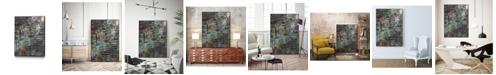 "Giant Art 40"" x 30"" Stack II Art Block Framed Canvas"