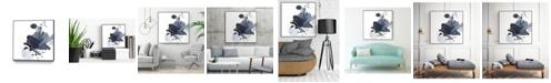 """Giant Art 20"""" x 20"""" Splash I Art Block Framed Canvas"""