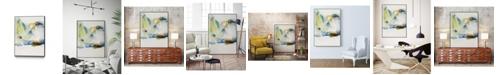 "Giant Art 32"" x 24"" Abstract Terrain I Art Block Framed Canvas"