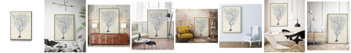 "Giant Art 36"" x 24"" Coral III Art Block Framed Canvas"