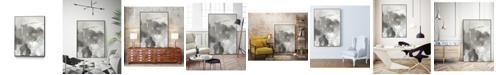 "Giant Art 36"" x 24"" Mystical Objects I Art Block Framed Canvas"