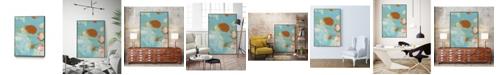 "Giant Art 40"" x 30"" Phoenix II Art Block Framed Canvas"