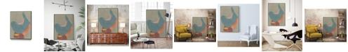 "Giant Art 32"" x 24"" Vessel XII Art Block Framed Canvas"
