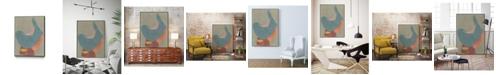 "Giant Art 28"" x 22"" Vessel XII Art Block Framed Canvas"
