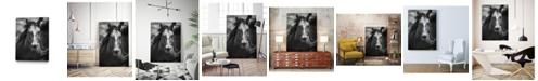 "Giant Art 24"" x 18"" Stallion III Museum Mounted Canvas Print"
