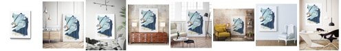 "Giant Art 32"" x 24"" Collage III Museum Mounted Canvas Print"