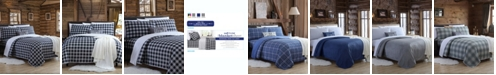Cathay Home Inc. Blanket Sheet Set with Reversible Faux Mink Flat Sheet - Full