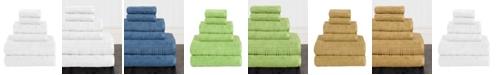 American Dawn American Dawn Jackson Modern Textured 6 Piece Towel Set