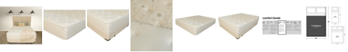 """Paramount Nature's Spa by Serenity 14"""" Cushion Firm Mattress Set- Full"""