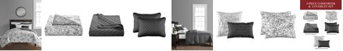 Sunham June 8-Pc. California King Comforter and Quilt Set