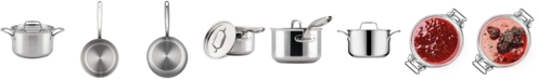 Breville Thermal Pro Clad Stainless Steel 4-Qt. Saucepot & Lid