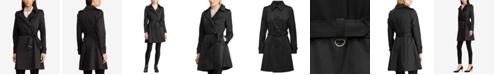 Lauren Ralph Lauren Belted Water Resistant Trench Coat, Created for Macy's