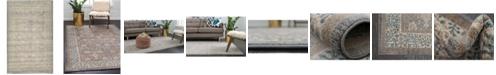 """Bridgeport Home Bellmere Bel3 Gray 3' 3"""" x 5' 3"""" Area Rug"""