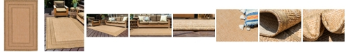 "Bridgeport Home Pashio Pas6 Light Brown 3' 3"" x 5' Area Rug"