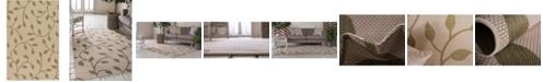 "Bridgeport Home Pashio Pas4 Green 5' 3"" x 8' Area Rug"