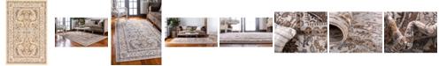 Bridgeport Home Wisdom Wis2 Ivory 5' x 8' Area Rug