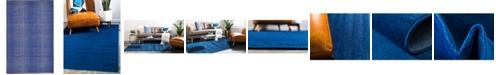Bridgeport Home Axbridge Axb3 Navy Blue 5' x 8' Area Rug