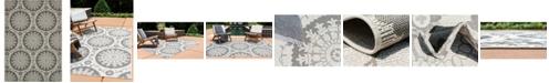 "Bridgeport Home Pashio Pas5 Gray 8' x 11' 4"" Area Rug"
