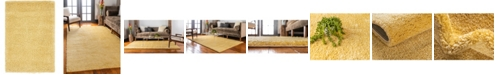 "Bridgeport Home Uno Uno1 Yellow 2' 2"" x 3' Area Rug"