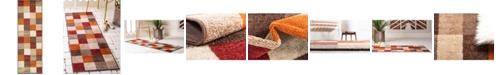Bridgeport Home Jasia Jas01 Multi 2' x 6' Runner Area Rug