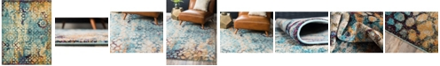 Bridgeport Home Brio Bri1 Blue 8' x 10' Area Rug