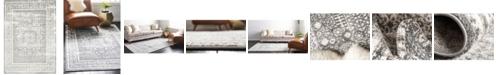 Bridgeport Home Mishti Mis1 Gray 9' x 12' Area Rug