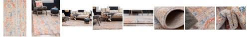 Bridgeport Home Nira Nir1 Orange 5' x 8' Area Rug