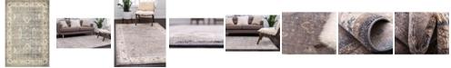 Bridgeport Home Bellmere Bel5 Gray 4' x 6' Area Rug