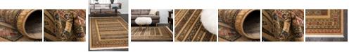 Bridgeport Home Ojas Oja4 Tan Area Rug Collection