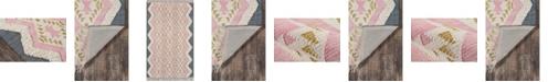 Novogratz Indio Ind-1 Pink Area Rug Collection