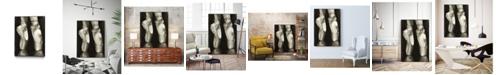 """Giant Art 32"""" x 24"""" Ballet Shoes II Art Block Framed Canvas"""