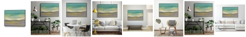 "Giant Art 32"" x 24"" Sunset Study II Art Block Framed Canvas"