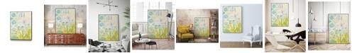 "Giant Art 40"" x 30"" Lattice Progression I Art Block Framed Canvas"