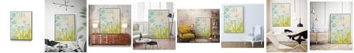 "Giant Art 20"" x 16"" Lattice Progression I Art Block Framed Canvas"