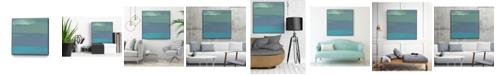 "Giant Art 20"" x 20"" Coast II Art Block Framed Canvas"