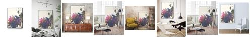 """Giant Art 24"""" x 18"""" Exuberant Splotch Art Block Framed Canvas"""