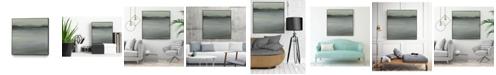 "Giant Art 30"" x 30"" Abstract Horizon V Art Block Framed Canvas"