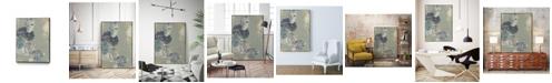 "Giant Art 14"" x 11"" Rock Formations II Art Block Framed Canvas"