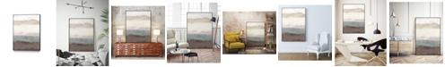 "Giant Art 24"" x 18"" Strata Horizon I Art Block Framed Canvas"