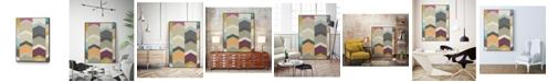 "Giant Art 14"" x 11"" Confetti Prism I Art Block Framed Canvas"