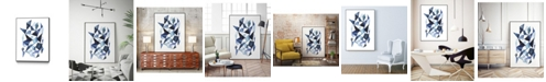 "Giant Art 32"" x 24"" Chrysalis I Art Block Framed Canvas"