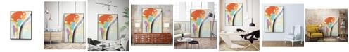 "Giant Art 28"" x 22"" Rhythm Variations II Art Block Framed Canvas"
