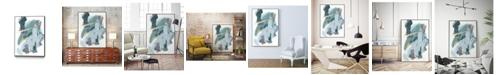 """Giant Art 36"""" x 24"""" Rhythm Rhapsody IV Art Block Framed Canvas"""