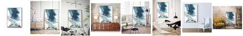 "Giant Art 32"" x 24"" Bella II Art Block Framed Canvas"