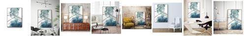 "Giant Art 40"" x 30"" Bella I Art Block Framed Canvas"