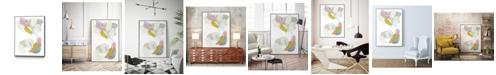 "Giant Art 24"" x 18"" Shift Change III Art Block Framed Canvas"