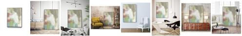 """Giant Art 36"""" x 24"""" Retro Splash I Art Block Framed Canvas"""