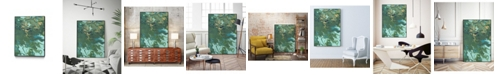 "Giant Art 28"" x 22"" Rambling Sage I Art Block Framed Canvas"