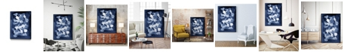 "Giant Art 28"" x 22"" Glass II Art Block Framed Canvas"